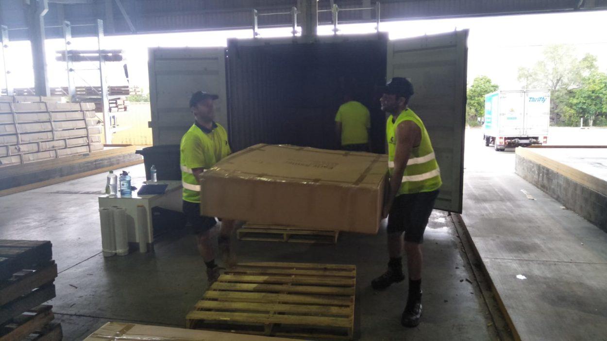 Tough Yakka | Container Unloading Brisbane & Labour Supplier